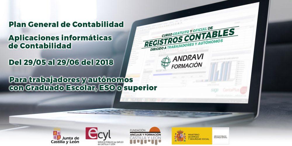 Curso en Palencia de Registros Contables