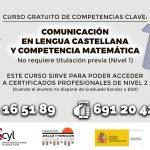 Curso de Competencias Clave: Lengua y Matemáticas