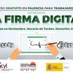 La Firma Digital curso en Palencia