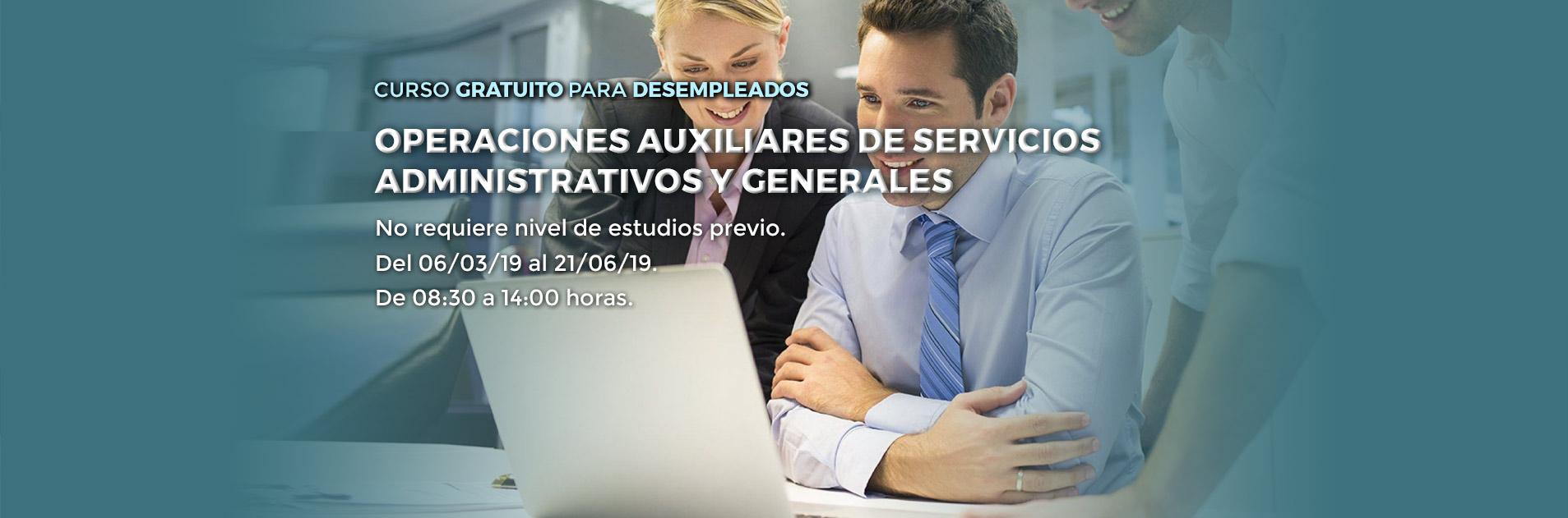 Curso en Palencia de operaciones auxiliares administrativas