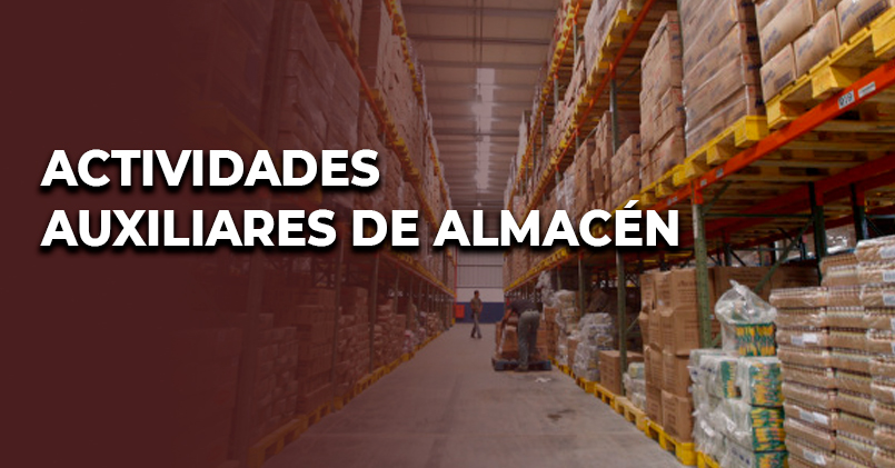 ACTIVIDADES AUXILIARES DE ALMACÉN (COML0110)
