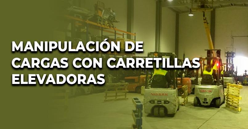 MF0432 MANIPULACIÓN DE CARGAS CON CARRETILLAS ELVADORAS