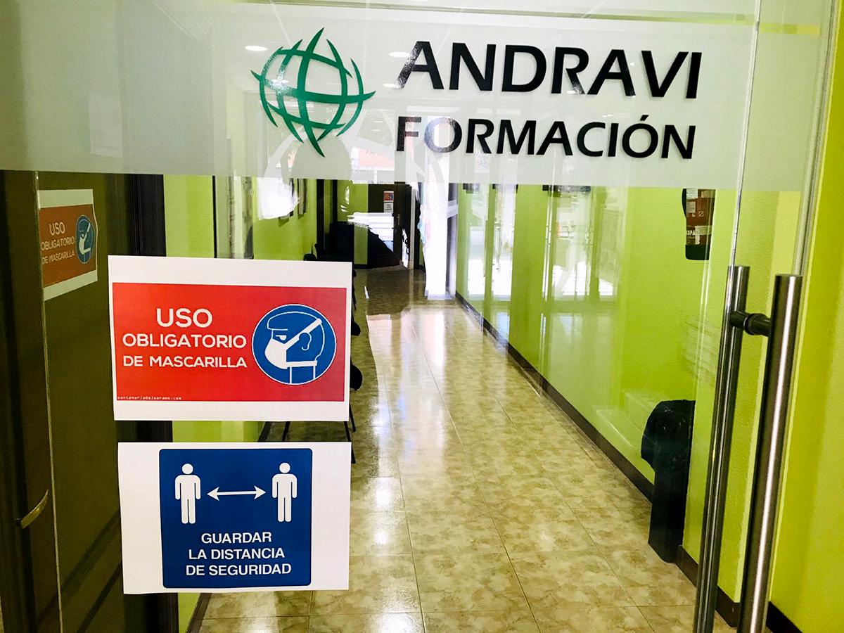 Nueva Normalidad en Andravi Formación en Palencia