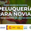 Curso de peluquería para novias en Palencia